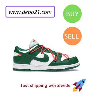Other - Nike Dunk Low Off-White Pine Green